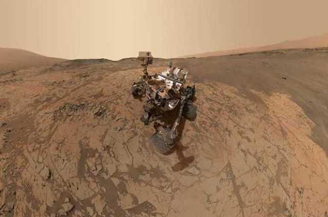 NASA Mars'a Kaya Parçası Gönderiyor