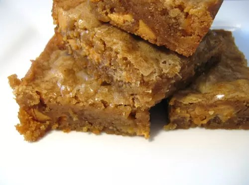 , Butterscotch Cannabis Blondies