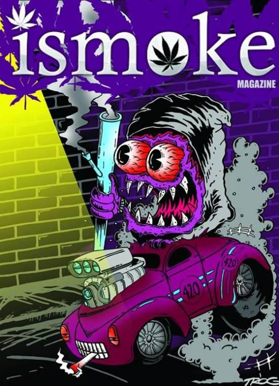 , New ISMOKE Art by TROG