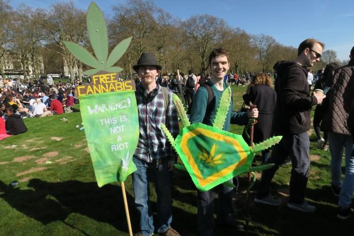 , 4/20/2016 in Hyde Park London