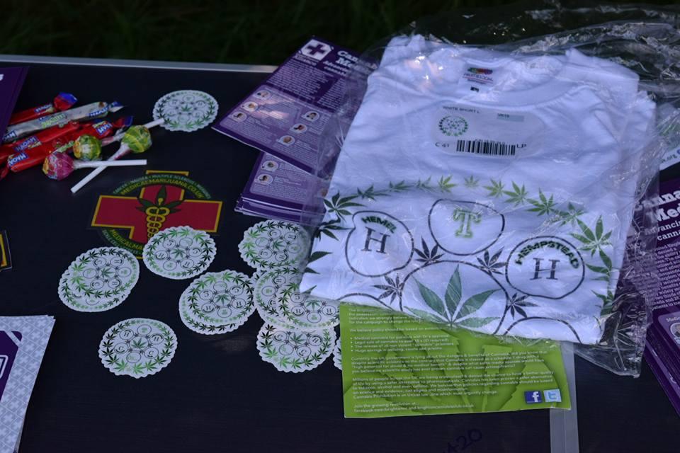 , Hemel Hempstead Cannabis Club Awareness Picnic July 2016, ISMOKE