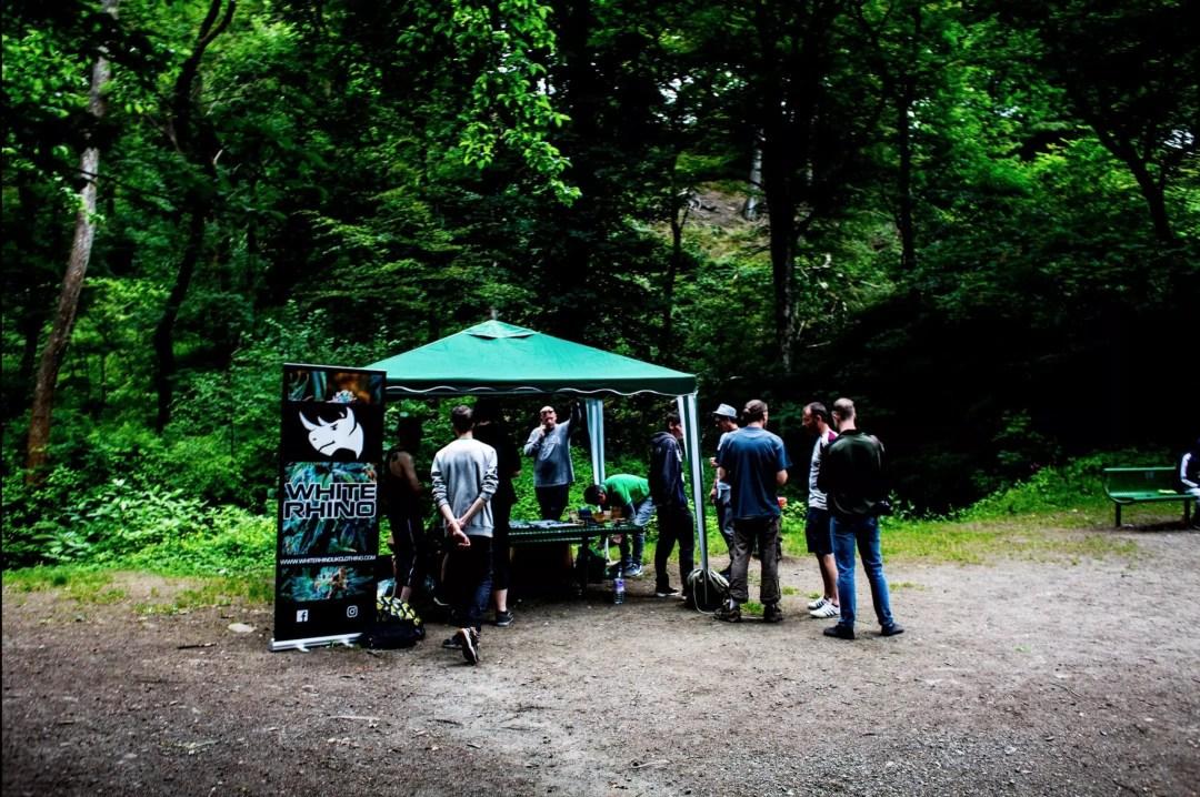 , Darwen Cannabis Club's first public event, ISMOKE