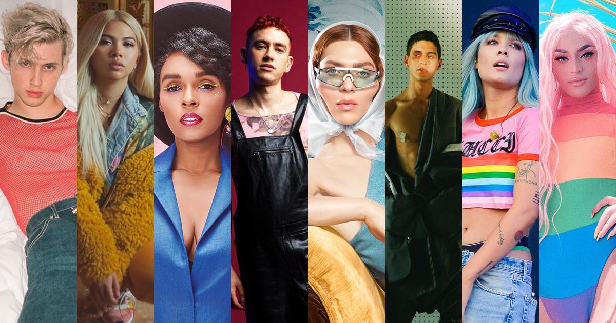 8 artistas LGBTQI+ que vale la pena celebrar en el #PrideMonth