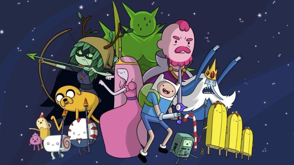 Adventure Time. Imagen: Cartoon Network
