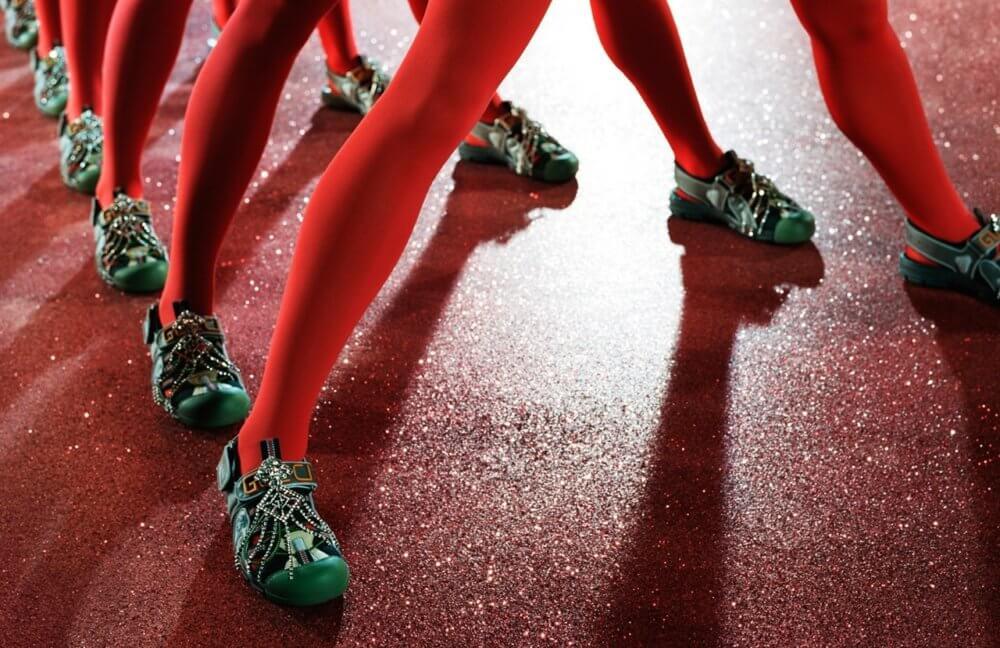 Gucci S/S 19. Imagen: Glen Luchford/Gucci