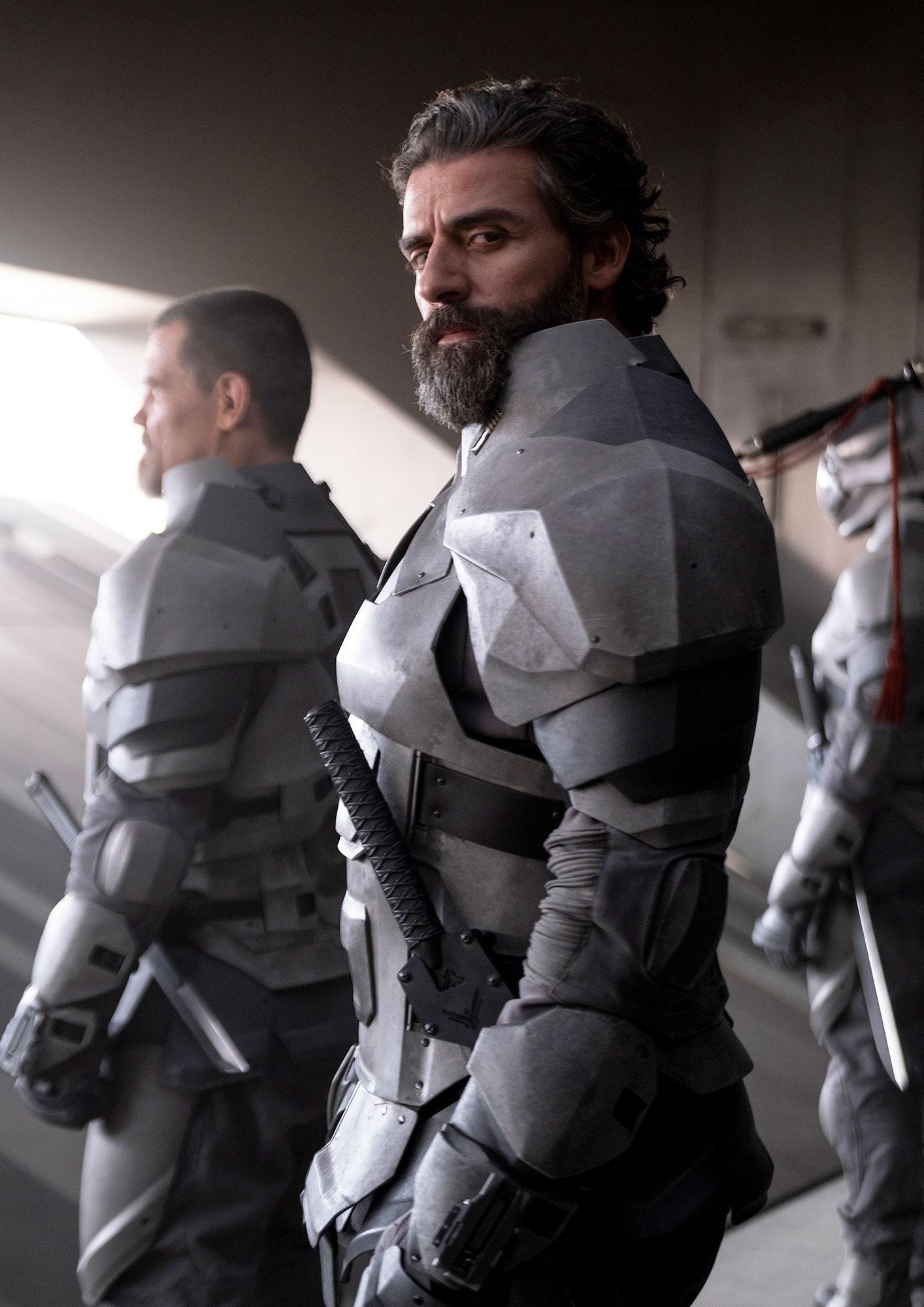 Oscar Isaac como Duke Leto Atreides. Fotografía: Chiabella James