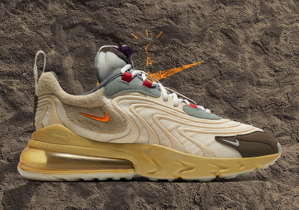 "La Nike x Travis Scott Air Max 270 ""Cactus Trails"". Fotografía: Nike"