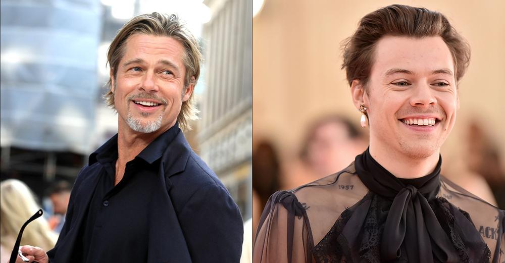 ¿Estarán Brad Pitt y Harry Styles juntos en una próxima película?