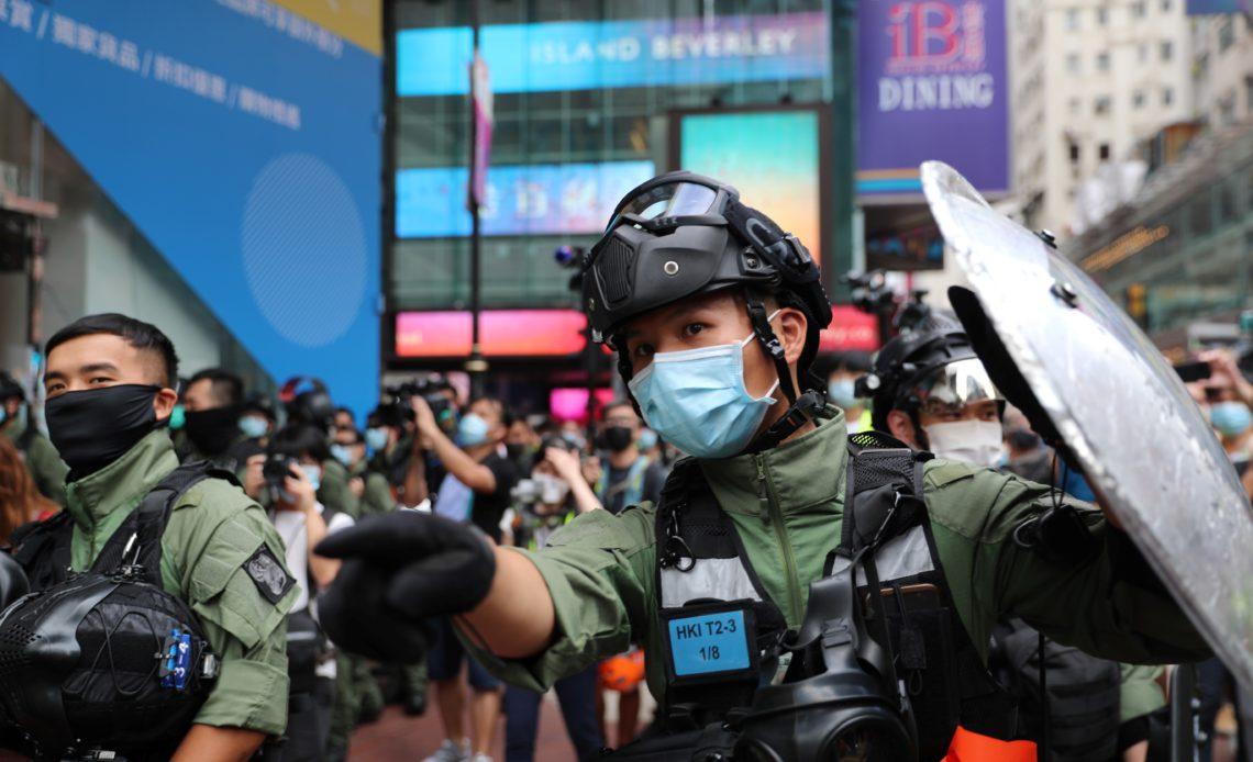Hong Kong: Más de 70 personas arrestadas en protestas durante Día Nacional de China