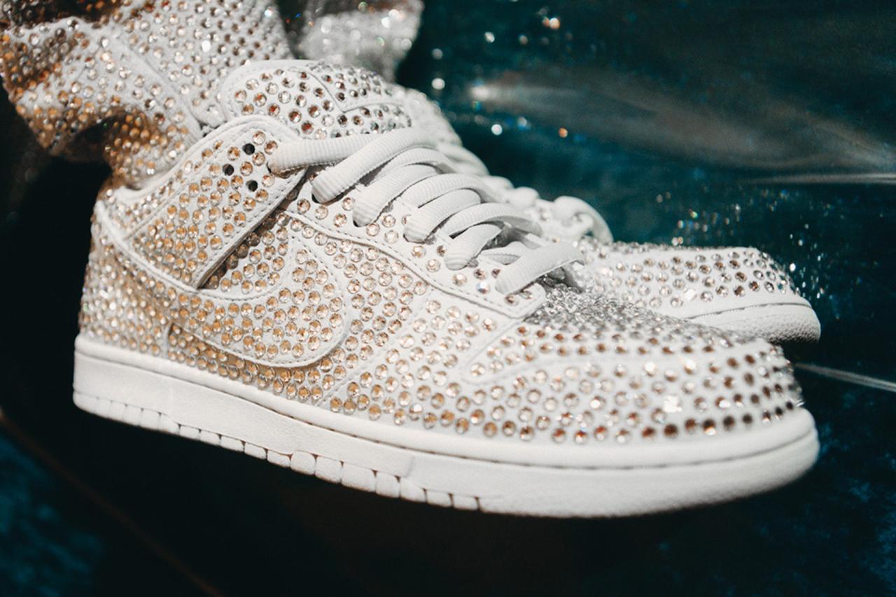 Cactus Plant Flea Market se une a Nike para las nuevas zapatillas Dunk Low cubiertas de cristales Swarovski