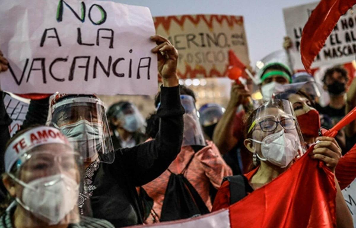 Perú: Vacío de poder mantiene al país sin presidente y sin presidente del Congreso