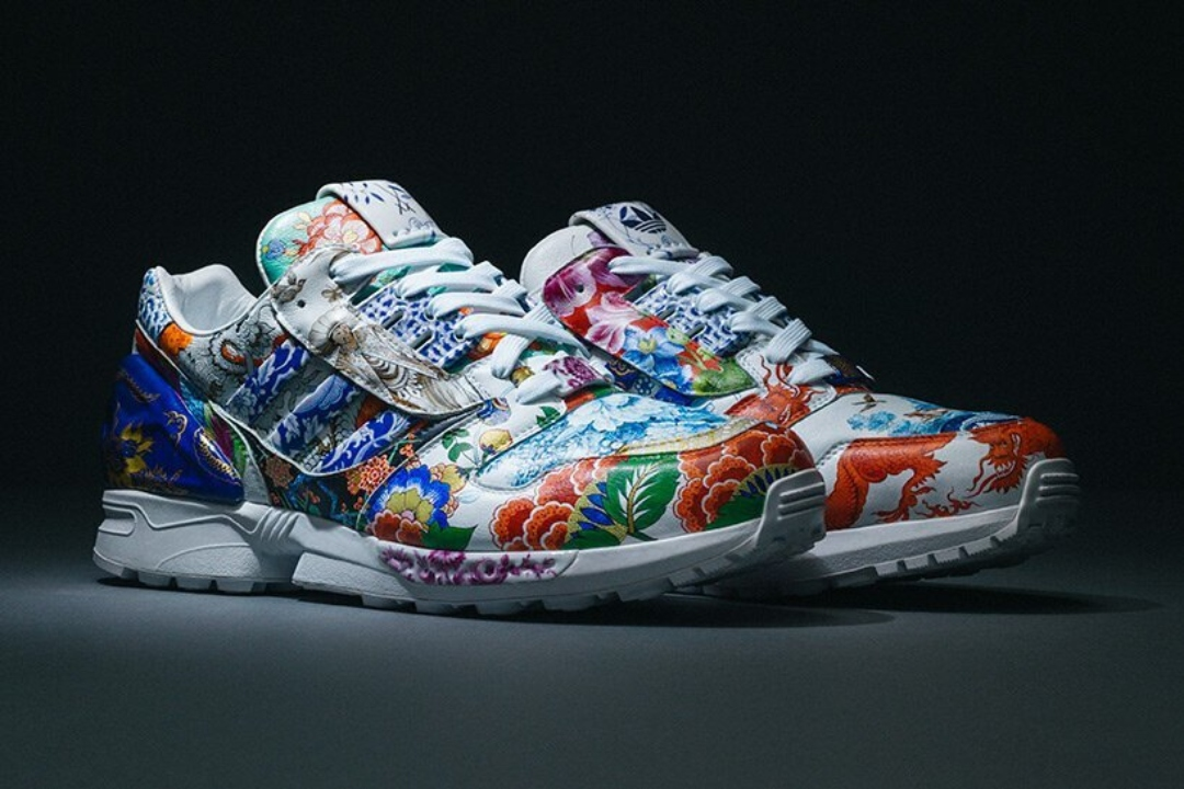 """Adidas y Meissen se unen para crear la zapatilla """"de porcelana"""" ZX8000 pintada a mano"""