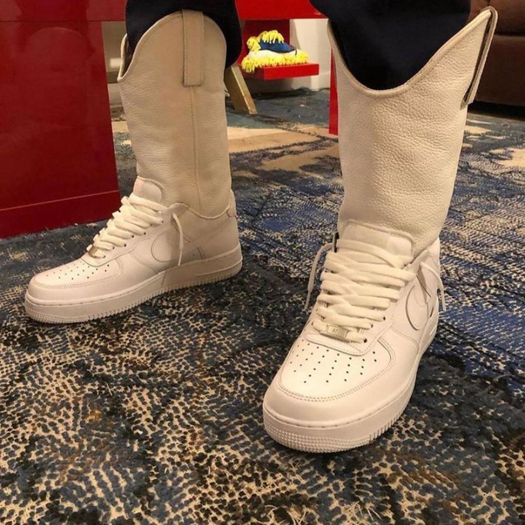 Te presentamos las botas Air Force 1 de Nike que te hacen sentir en el viejo oeste en plena ciudad