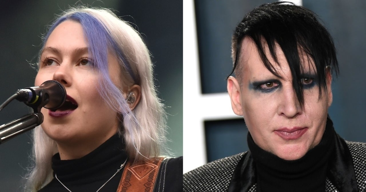 Phoebe Bridgers compartió una desagradable experiencia que vivió en casa de Marilyn Manson