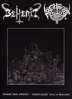 "02BEHERIT / ARCHGOAT  ""split"""