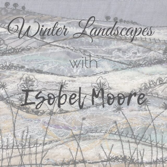 So excited! ❄️ Winter Landscapes is ready for you to join me! Doors open on Monday, so you can get everything ready to start stitching from January 18th. Join me! It's going to be fun! ❄️  ❄️All the info is on my website - and there's a direct link to the course info in my bio ❄️