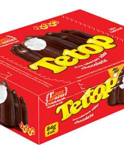 Tetop Chocolate Display 84g contendo 6 unidades de 14g – Jazan