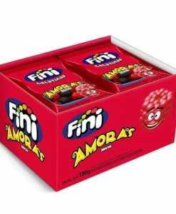 Mini Amoras com 12 pacotes de 15g cada - Fini