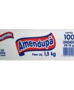 Paçoquinha Rolha 1,5kg Contendo 100 unidades de 15g - Amendupa
