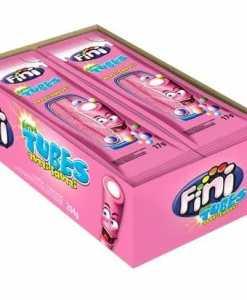 Tubes Tutti Frutti Azedinho com 12 unidades de 17g cada - Fini