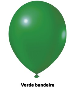 Balão Joy Redondo n°5 Verde Bandeira