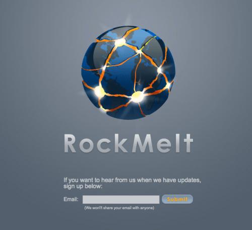 navegador internet rockmelt