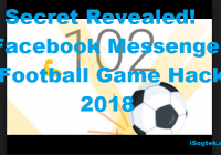 Facebook Messenger Football