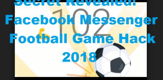 Facebook Messenger Football