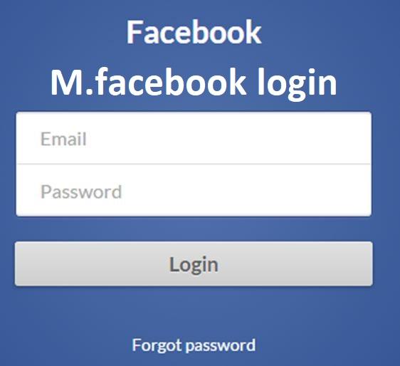 M.facebook Login | Facebook Mobile Log in or sign up - iSogtek