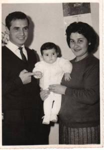 La Famiglia di Gianfranco Massidda (foto 1965)