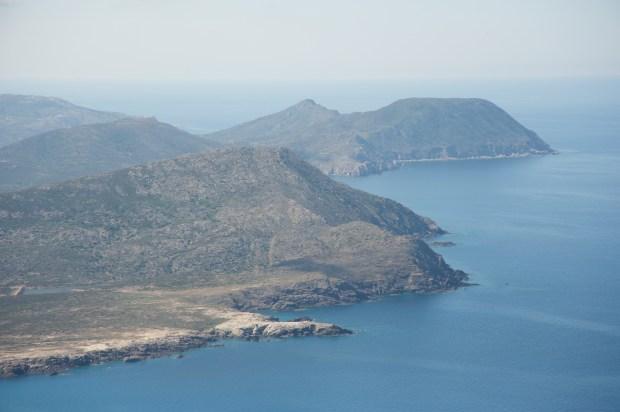 """La parte dell'isola di """"mare di fuori"""" (foto Pier Mario Scano)"""