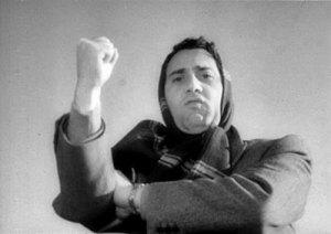 "Alberto Sordi nel film ""i Vitelloni"" regia De Sica 1953"