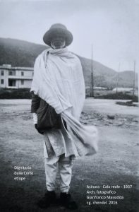dignitario etiope