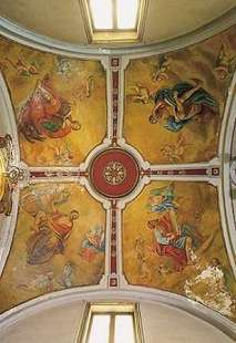 Dipinti soffitto chiesa Madre