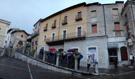 La sede di Forza Italia (fonte Facebook)