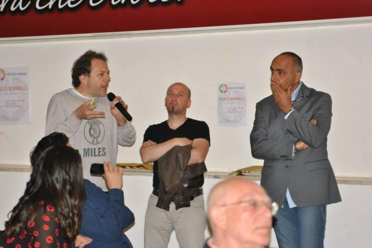CRESCITA COMUNE incontra il giornalista Giulio Borrelli