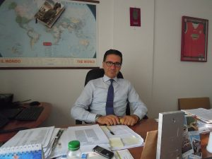 Antonio Forlini, presidente della Ruzzo Reti