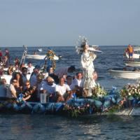 Festa Grande Estiva di S. Maria Immacolata - Processione a mare - Nizza di Sicilia (ME)