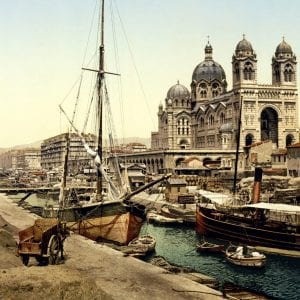 Past & Present: Photographs of Marseille, France 14