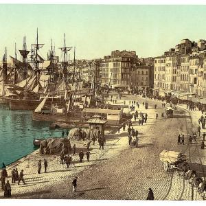 Past & Present: Photographs of Marseille, France 17