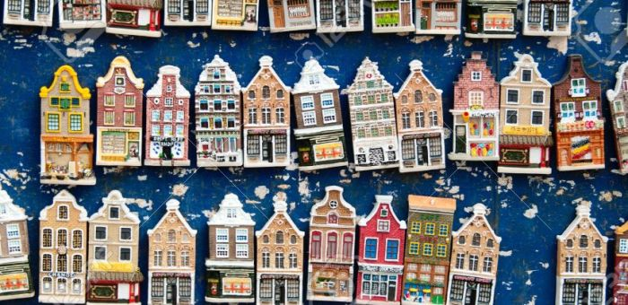 Bloemenmarkt magnets
