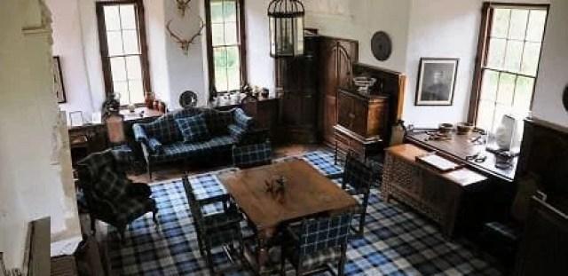 Craigievar Castle inside