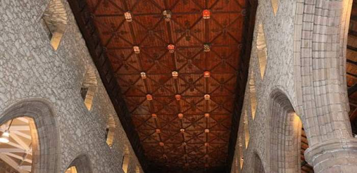 St Machar's Cathedral roof
