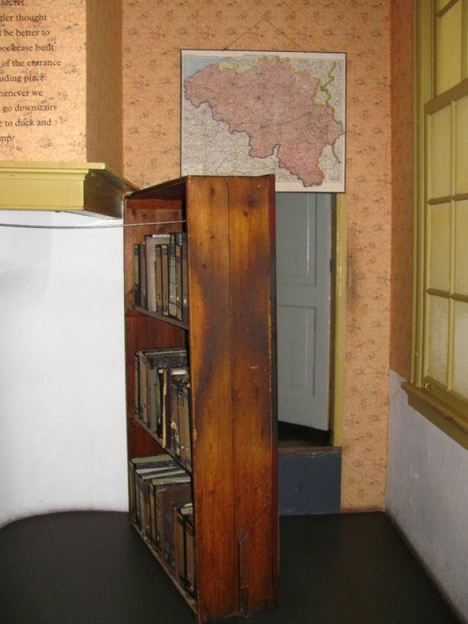 Anne Frank House Secret door way