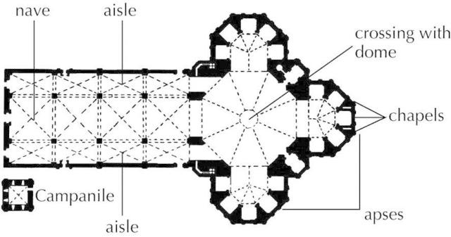 Florence Cathedral Plan