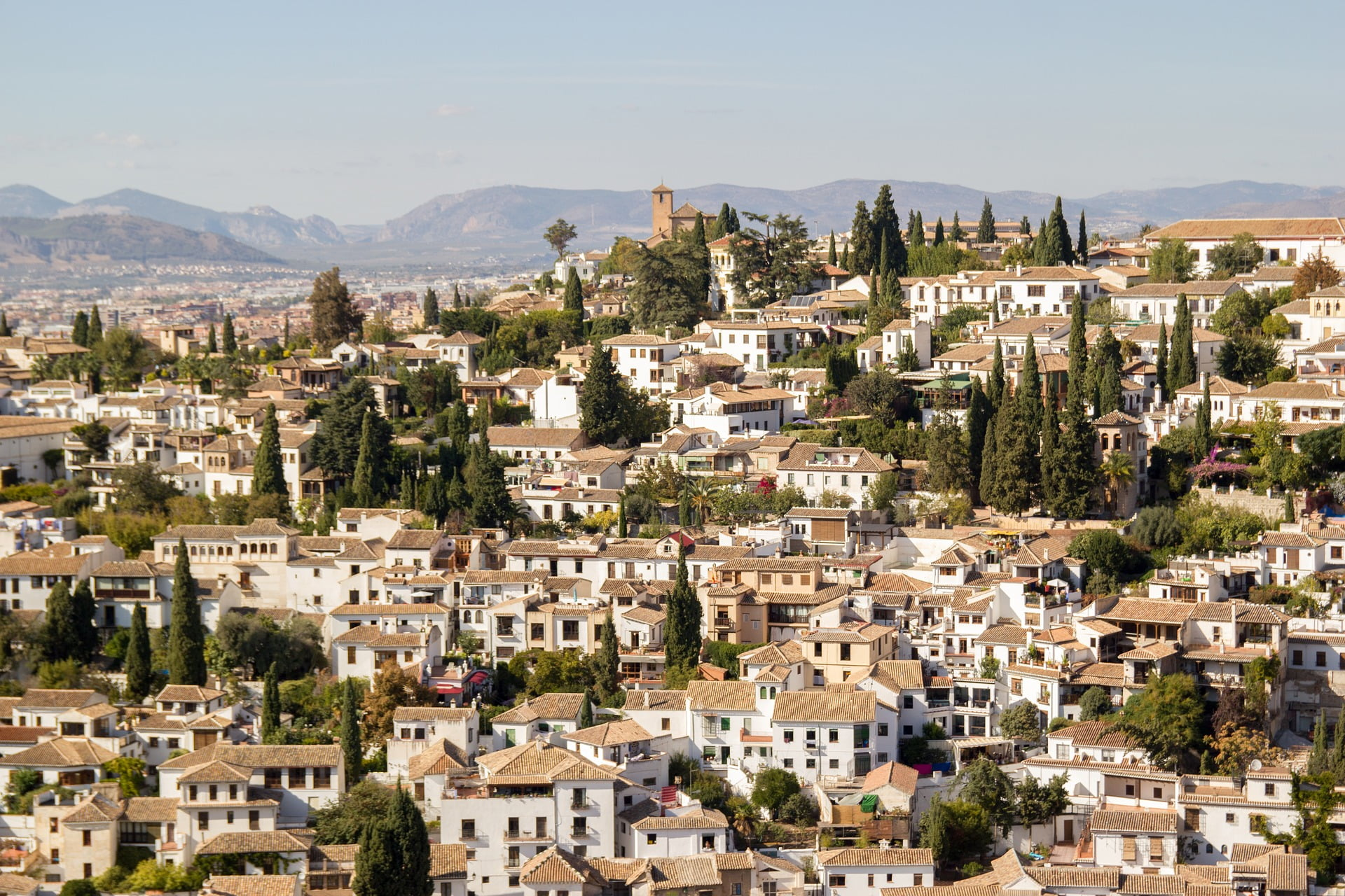 Cities and Villages in Spain