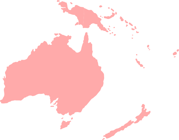 countries in Australia and Oceania