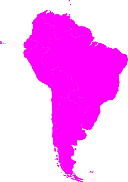 Countries in South America