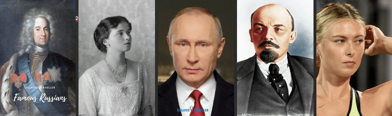 List of Famous Russian people