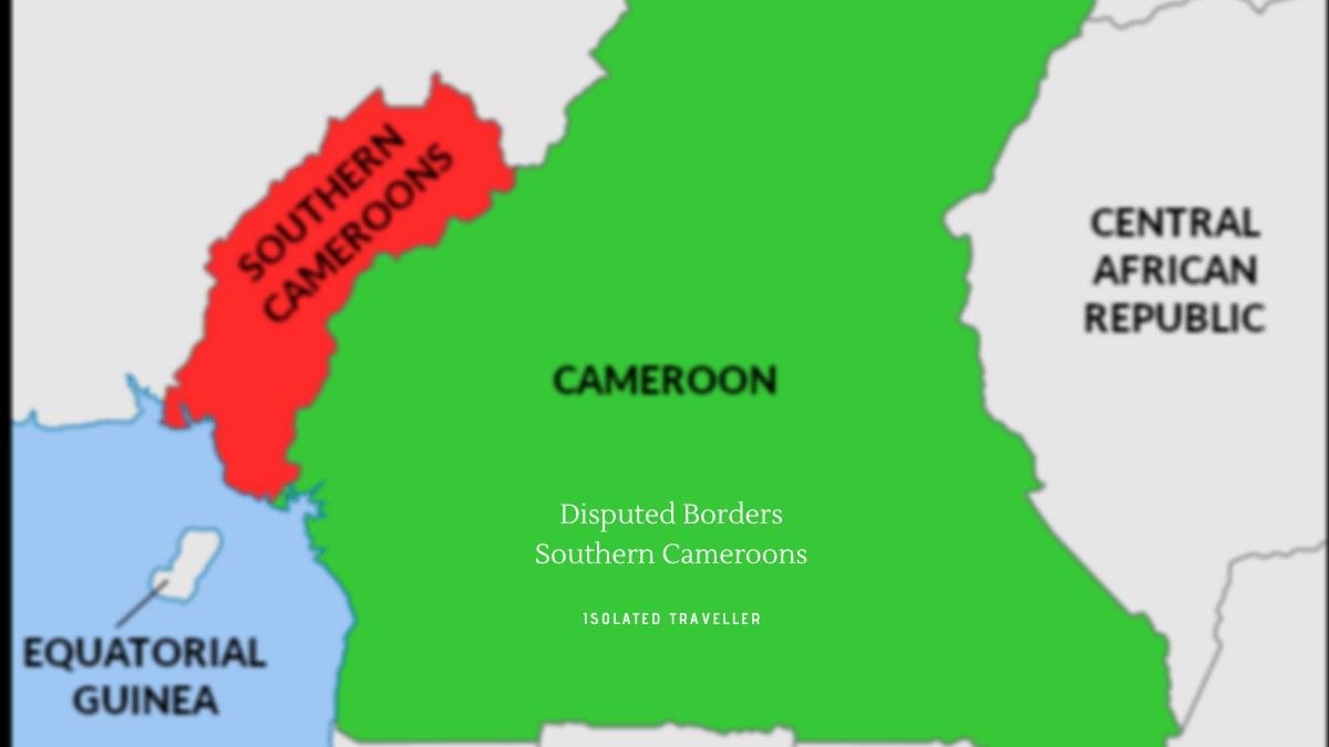 Disputed Borders Southern Cameroons